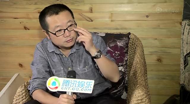 """独家专访""""中国科幻大神""""《三体》作者刘慈欣截图"""