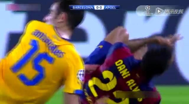 【集锦】巴萨1-0希腊人竞技 梅西助攻皮克破门截图