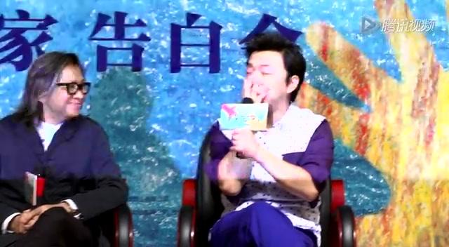 陈可辛黄渤带《亲爱的》进校园:年轻人也喜欢感动截图