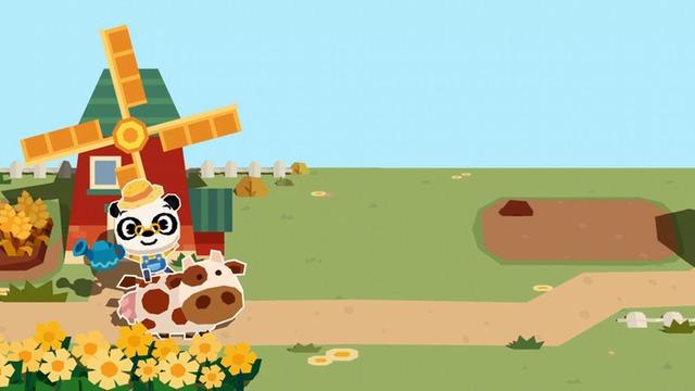 熊猫博士农场游戏 当农夫做面包和果酱