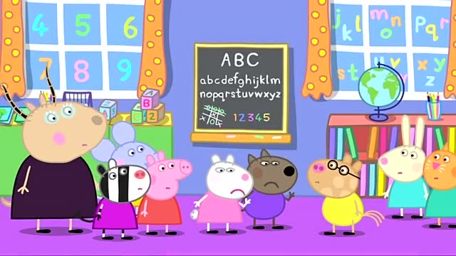 粉红猪小妹 清理屋子 小猪佩奇 佩佩猪 小猪佩奇动画片全集 粉红猪