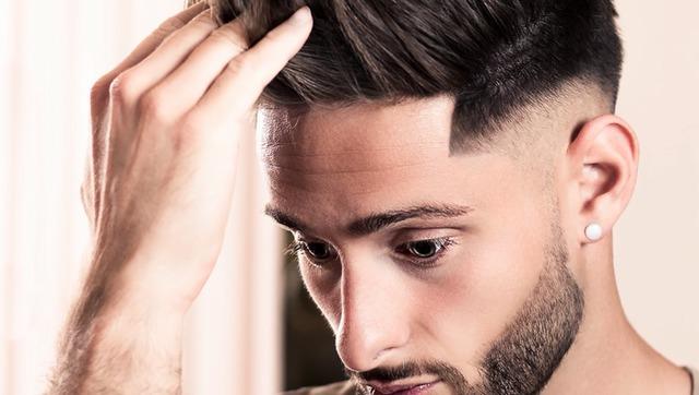 论男士发型的重要性 剃发前和剃发后妆容大变样图片