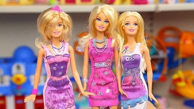 芭比娃娃 时尚设计组合 芭比夏季时装发布会 服装设计 玩具试玩