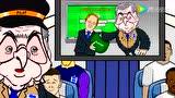 动画恶搞霍奇森 被淘汰竟甩锅鲁尼凯恩哈特