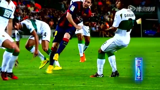 梅西一条龙过人进球集锦 小跳蚤一人戏耍对方全队截图