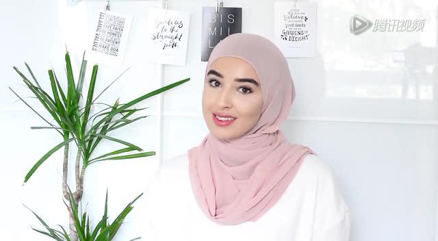 穆斯林美人志 漂亮头巾戴法
