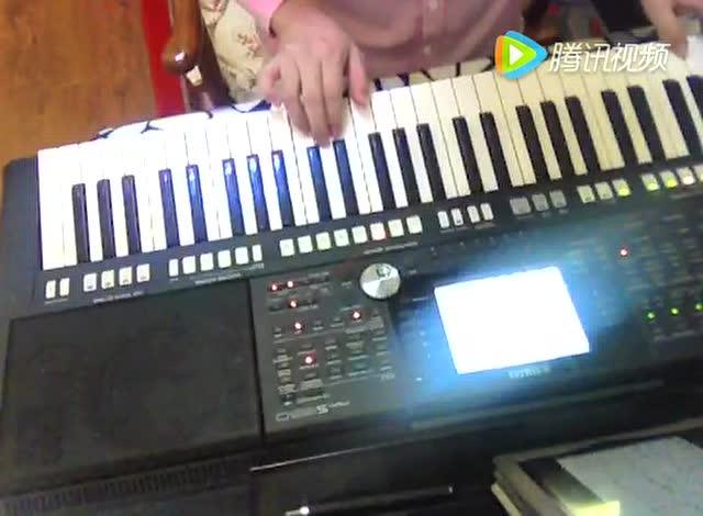 西游记序曲 电子琴图片