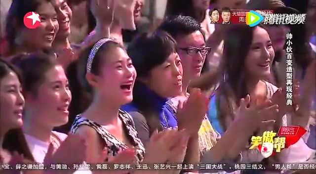 个人秀《致敬大师》逯爱岩 帅小伙百变造型再现经典图片