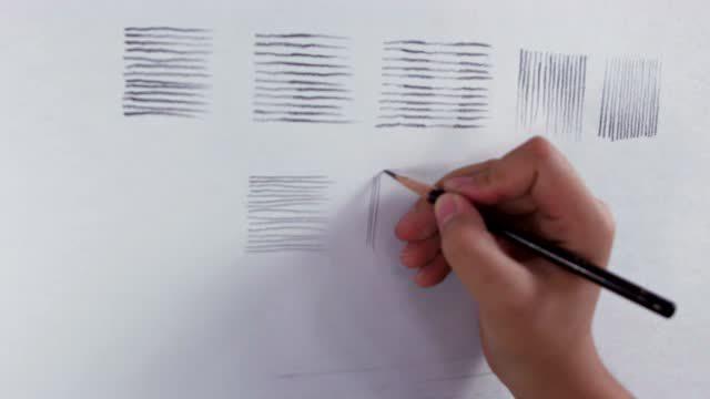 越画越好:从零开始学素描 教你画线条