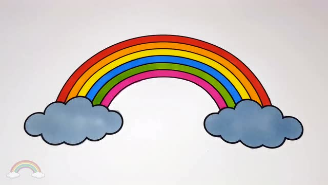 彩色气球简笔画儿歌