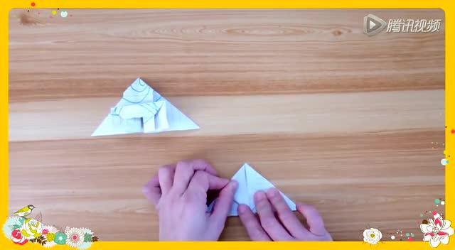手工折纸视频建筑系列 宝塔