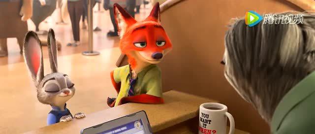 【疯狂动物城】兔子狐狸万年cp