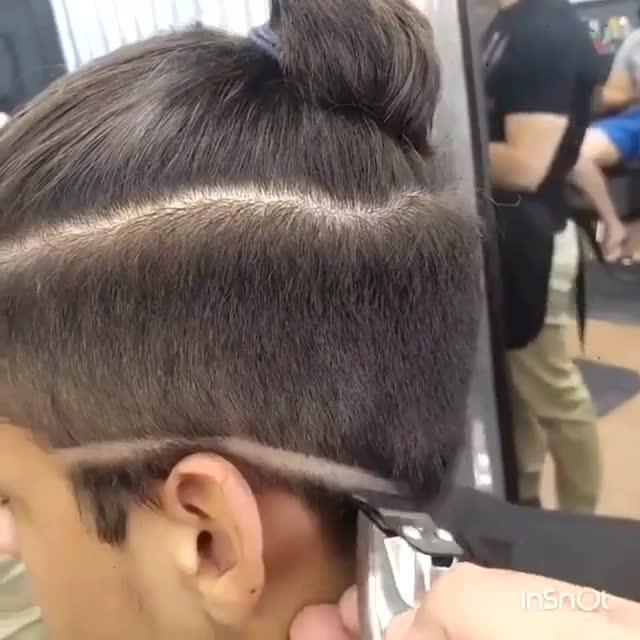 小男生剪个小辫子发型还挺帅图片