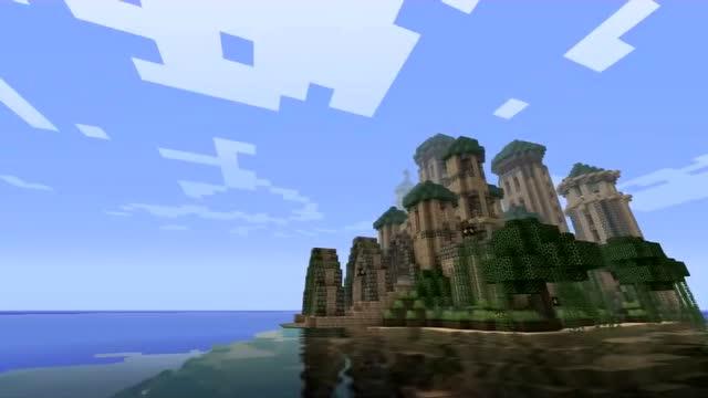我的世界 - 海上城堡