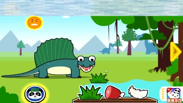 宝宝巴士 恐龙乐园 包头龙 三角龙 恐龙世界 异齿龙 腕龙 剑龙