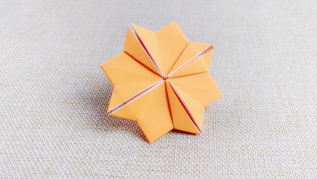 儿童折纸 包学会 雏菊的折纸视频