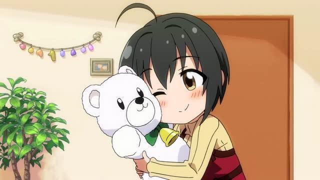 可爱的小熊,今晚就跟我一起睡吧!
