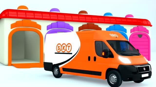 3d汽车玩具汽车 教你认识颜色