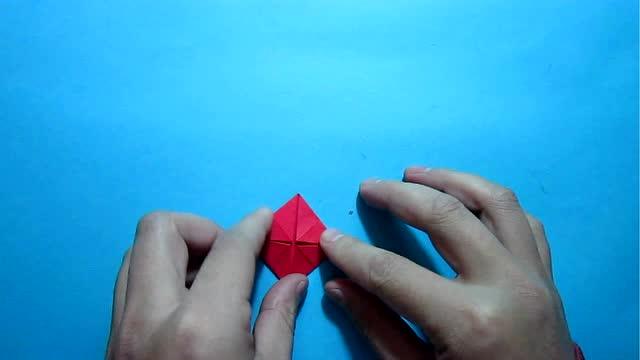 手工折纸裤子的折法 小学生手工简单又漂亮