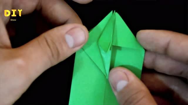 """手工制作diy,折纸""""眼镜蛇""""的方法"""