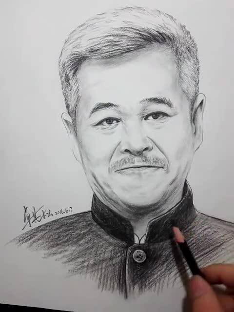 手绘赵本山 有配音哦!