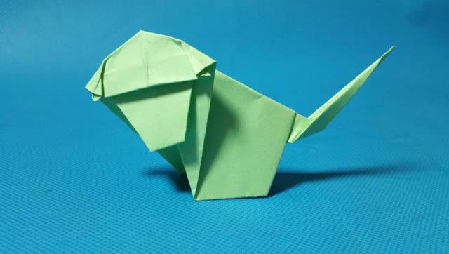 折纸王子教你折小猴子 十二生肖折纸 儿童折纸大全