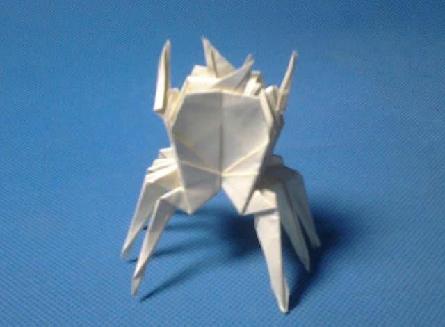 折纸王子教你折十二星座折纸之巨蟹座