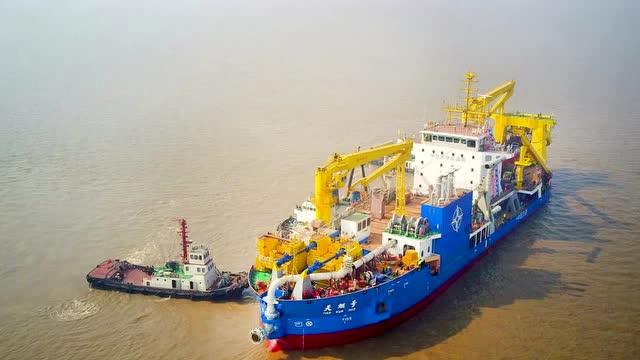 中国最新填海造岛神器横空出世,疏浚填海能力大幅提升
