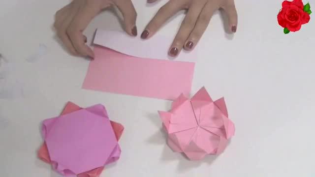简单折纸 圣诞节 生日蛋糕