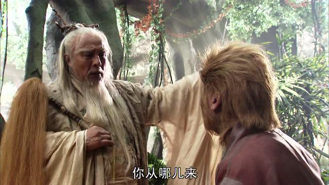 孙悟空被菩提祖师赶出师门,你从哪来就回哪里去