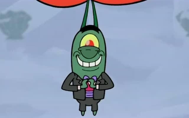 海绵宝宝帮痞老板给蟹老板戴绿帽子,蟹老婆高兴坏了!