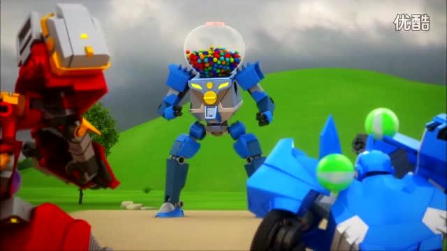 迷你特工队:别小看机械装甲的糖果炮弹 特工队就吃亏了图片
