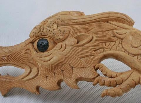 纯手工木雕,精彩绝伦