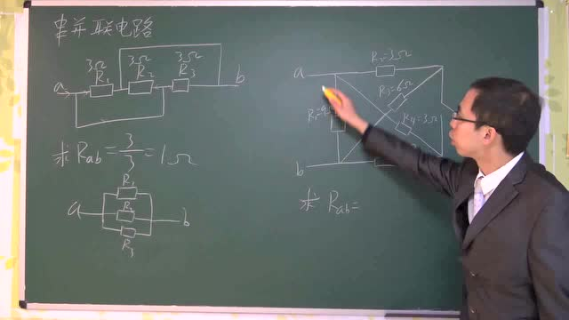 6, 高中物理3-1恒定电流——串并联电路的应用
