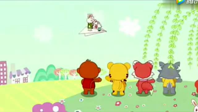 一首儿歌《彩虹的约定》非常好听的儿歌,很喜欢图片