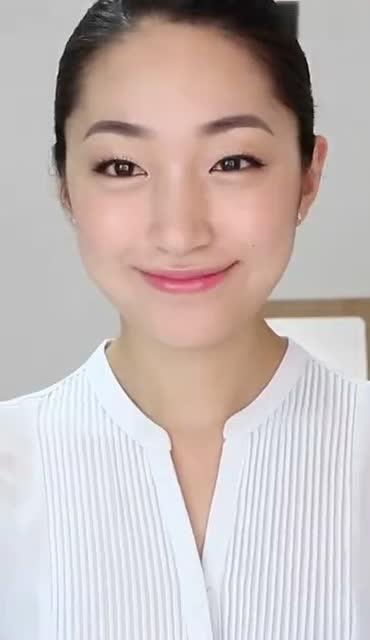 空姐发型_韩系空姐发型教程,日常工作中也可以参考一下挑脸型