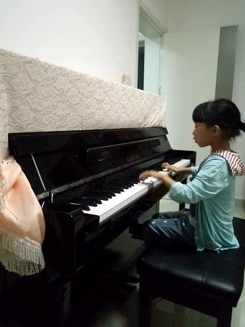 钢琴曲-扎红头绳