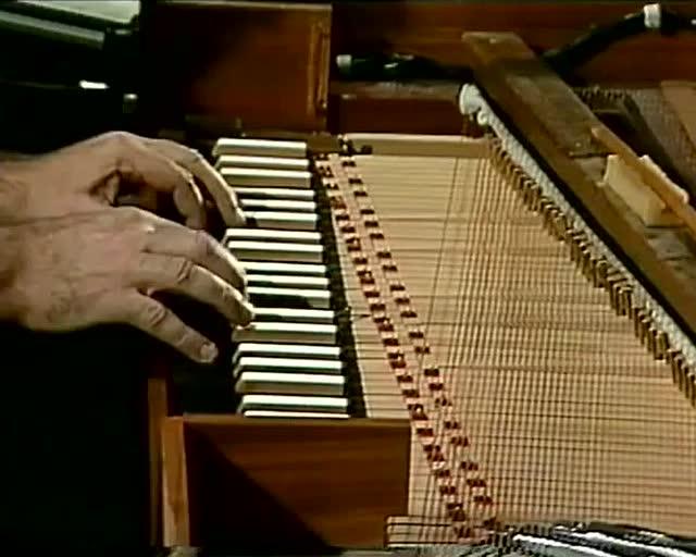 古尔达巴赫平均律第一首 拨弦古钢琴图片