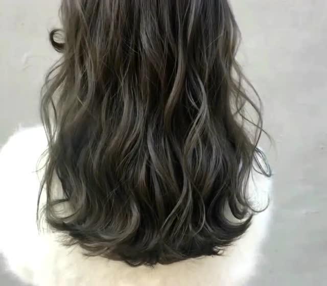 不长不短的头发就要这样烫一烫,超级好看,真是太美了!