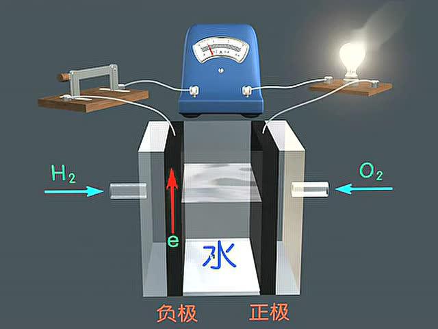 氢氧燃料电池原理