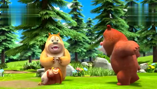 动画片熊出没之熊熊乐园:涂涂来俺家