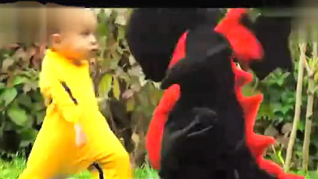 宝宝这一招黑虎掏心也实在是高图片