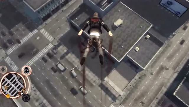 3d极限跑酷电脑版_游戏界最强男主 极限跑酷摩天大楼跳下毫发无损