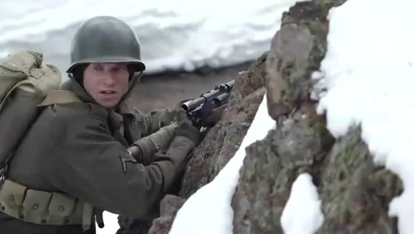 美军连队碰到中打响德军装甲师,一场恶战在途,电影很真实秋霞场面仙桃大补图片