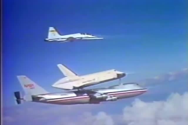 1977年企业号航天飞机滑翔测试 - 原创 - 3023视频