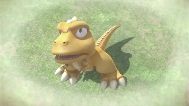 小恐龙阿贡图片