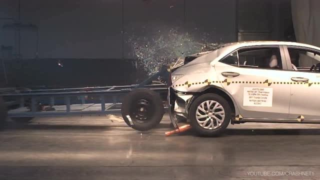 2017款 丰田 卡罗拉 追尾测试 - 汽车 - 3023视频 - .