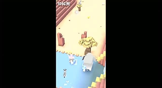 【玉米】疯狂动物园之迷你小兔子又摔了 游戏