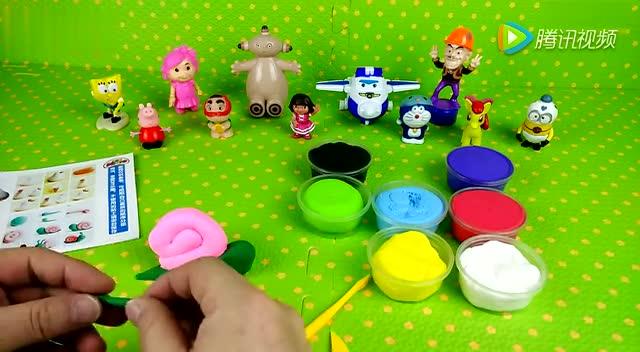 培乐多彩泥 小蜗牛 橡皮泥手工制作 黏土玩具演示视频