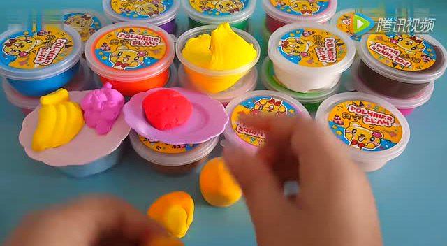 超炫的韩国人气培乐多彩泥黏土制作 迪士尼米老鼠玩偶